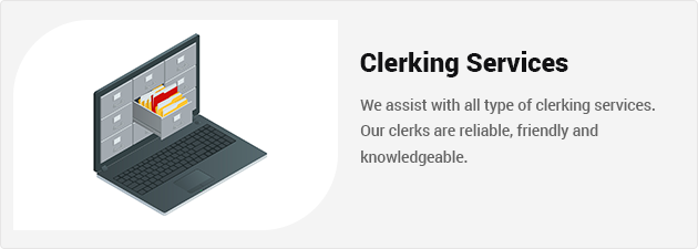 clerking-services